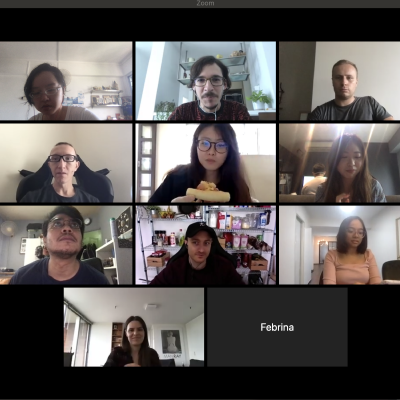 UX Researchers in a team meeting