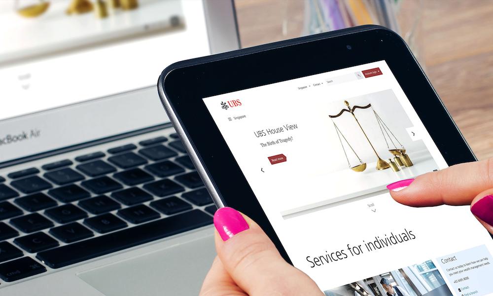 UBS E-Banking Platform