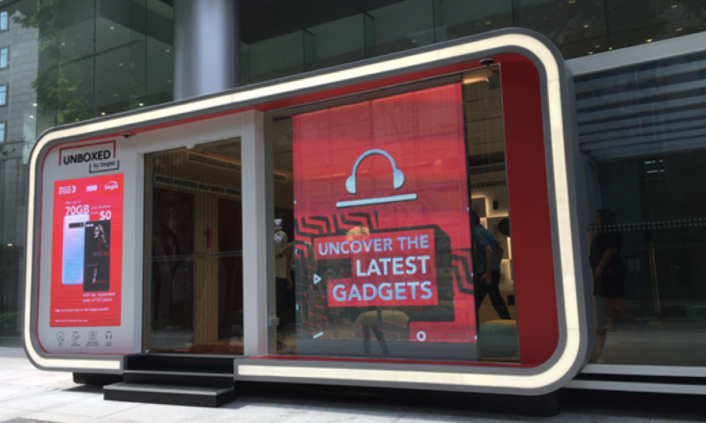Singtel Usability and Experience of Unmanned Store